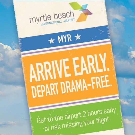 Arrive early at MYR